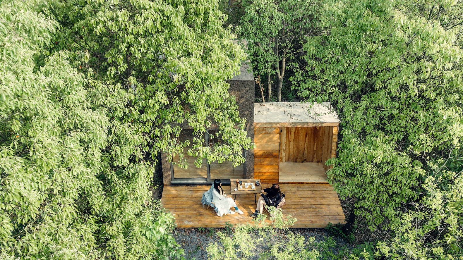 cabin gỗ 3