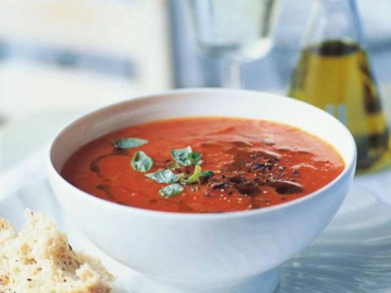Súp cà chua - Thơm ngon và đẹp mắt