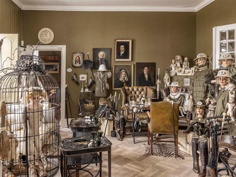 Bảo tàng đồ cổ giữa đồng quê Đan Mạch