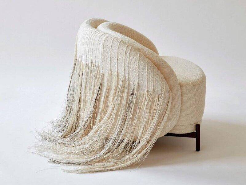 Ghế AME Natural Lounge - Đột phá chất liệu thiết kế