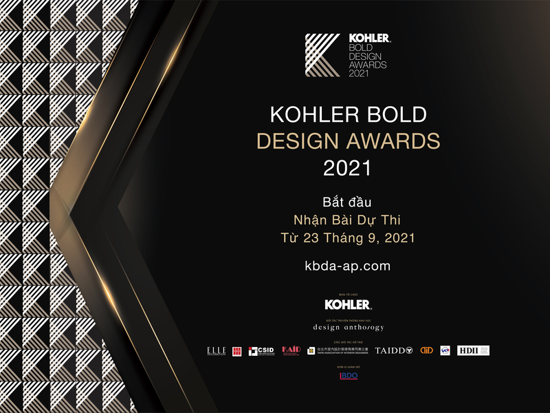ELLE Decoration tiếp tục đồng hành cùng KOHLER BOLD DESIGN AWARDS