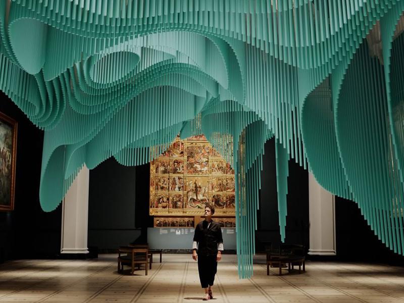 Medusa - Nghệ thuật sắp đặt thực tế ảo